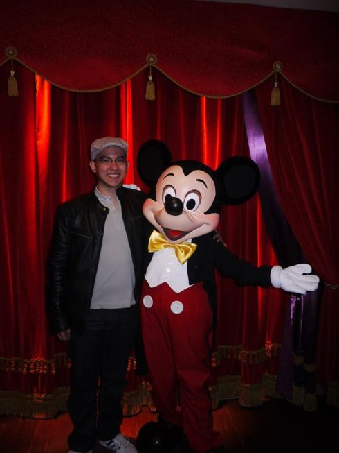 birthday with mickey