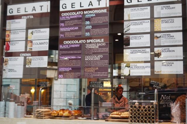 Reistance is futile: Italian gelato