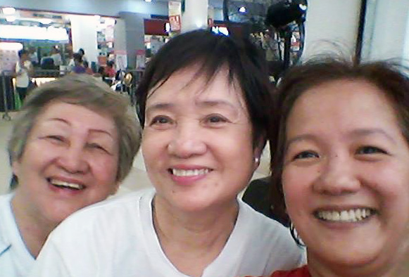 With Tita Cor and Ma.