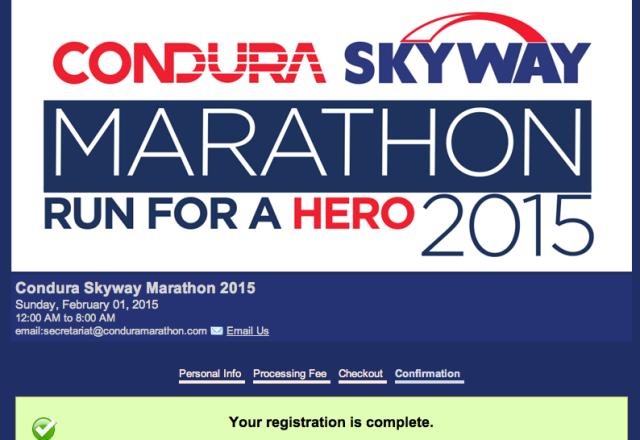 condura marathon 2015