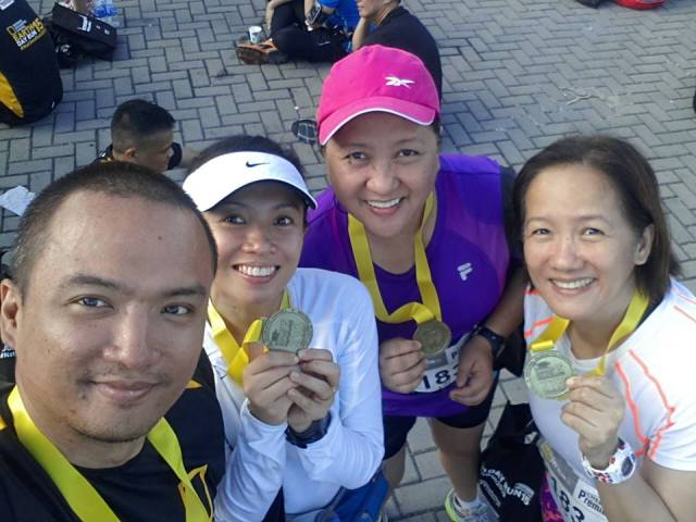 We all finished. Yay!